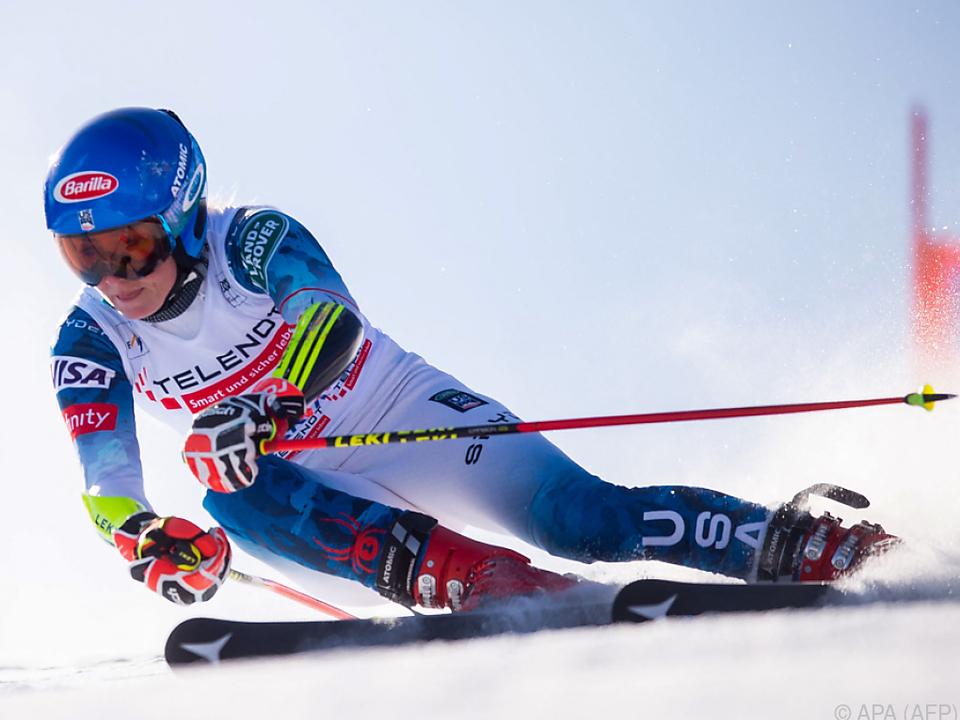 Harte Konkurrenz für Shiffrin im Kampf um Slalom-Kristall