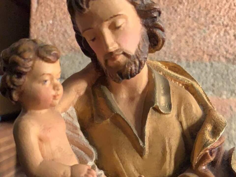 Hl. Josef mit Jesukind X