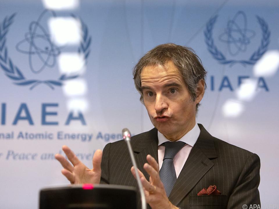 IAEA-Chef Rafael Grossi hofft auf Klarheit bis zum Sommer
