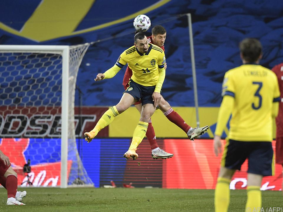 Ibrahimovic zeigte wieder vollen Einsatz für Schweden