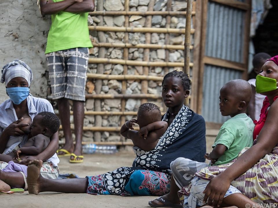 Im Norden Mosambiks fliehen Bewohner vor Terrormiliz