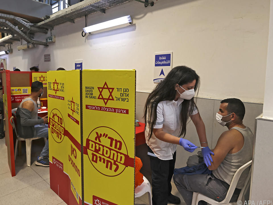 Impfkampagne in Israel zählt zu den erfolgreichsten weltweit