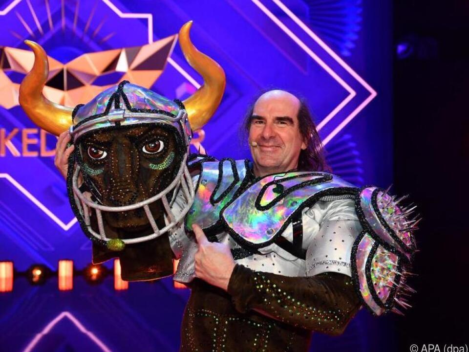 In der aktuellen Staffel wurde Sänger Guildo Horn als Stier enttarnt