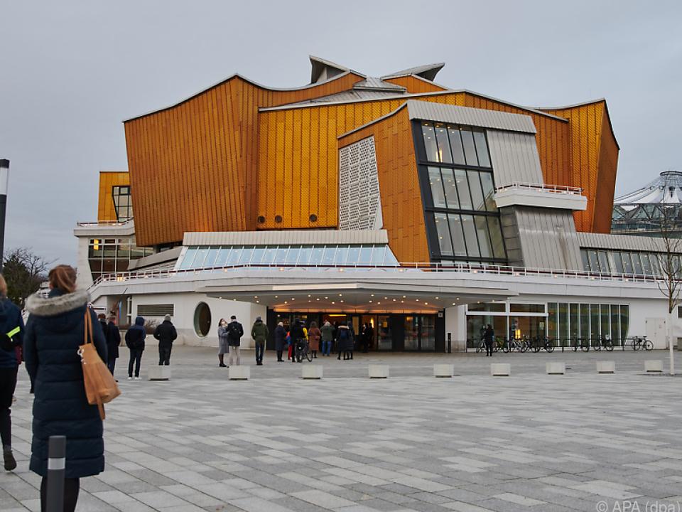 In der Berliner Philharmonie fand nach langer Pause ein Konzert statt