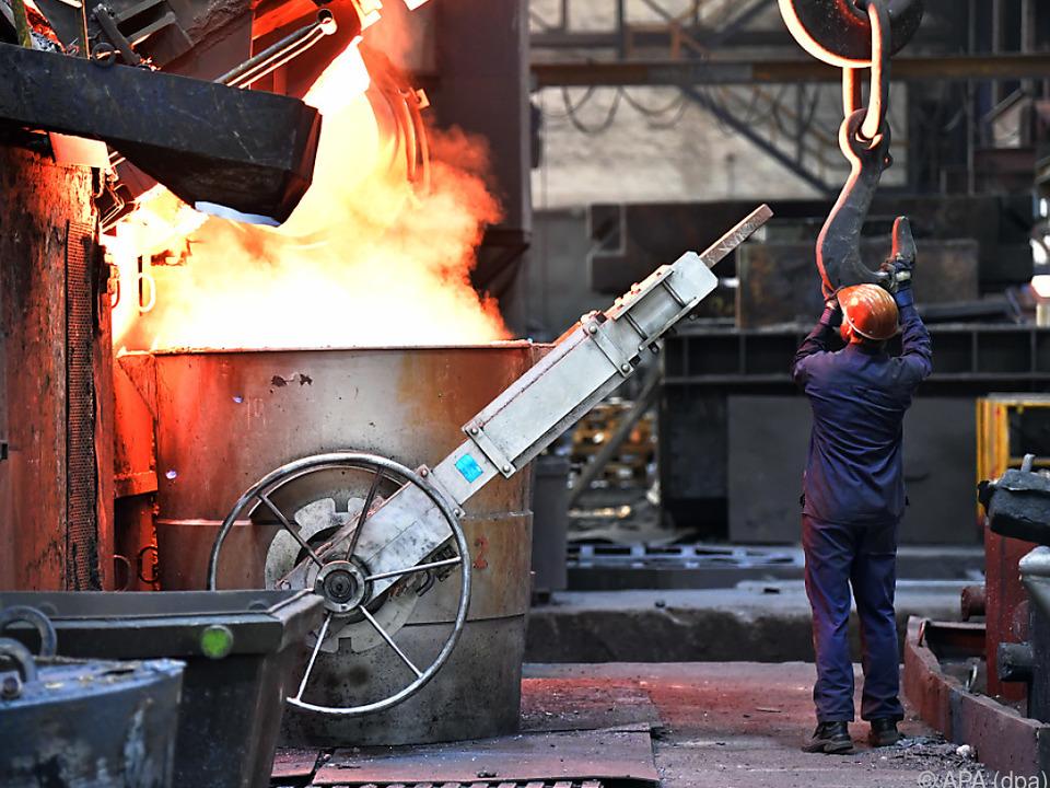 Industrie profitiert von Auftragsboom