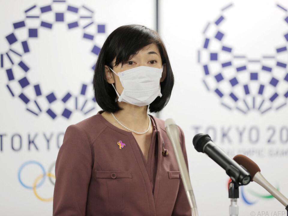 Japans neue Olympia-Minsterin Tamayo Marukawa