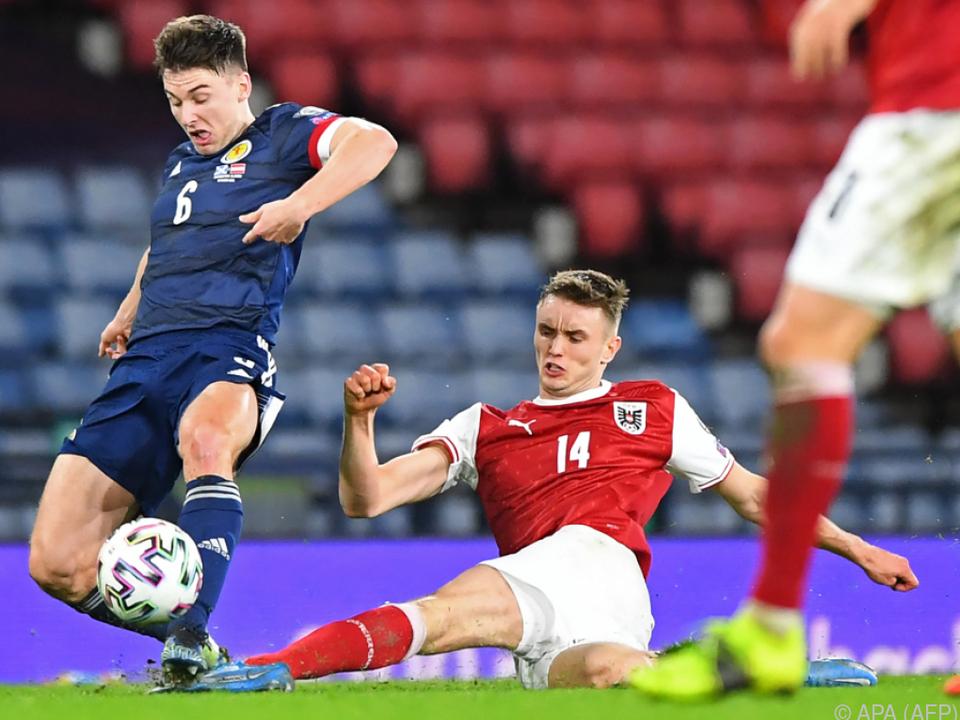 Kalajdzic glänzte in Glasgow mit seinen ersten zwei Länderspiel-Toren