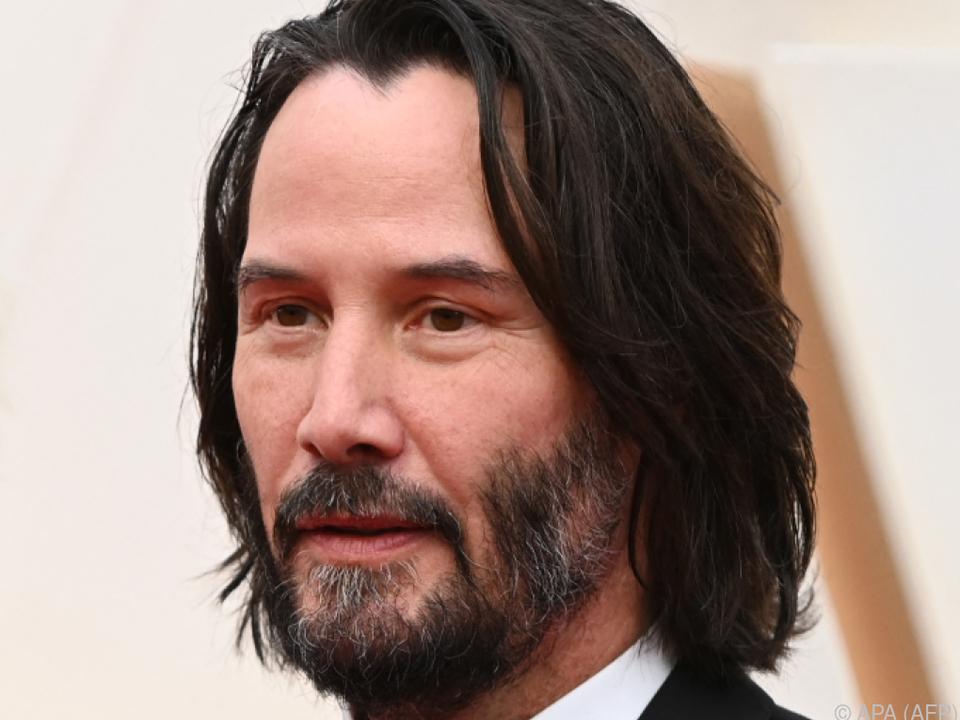 Keanu Reeves dreht \