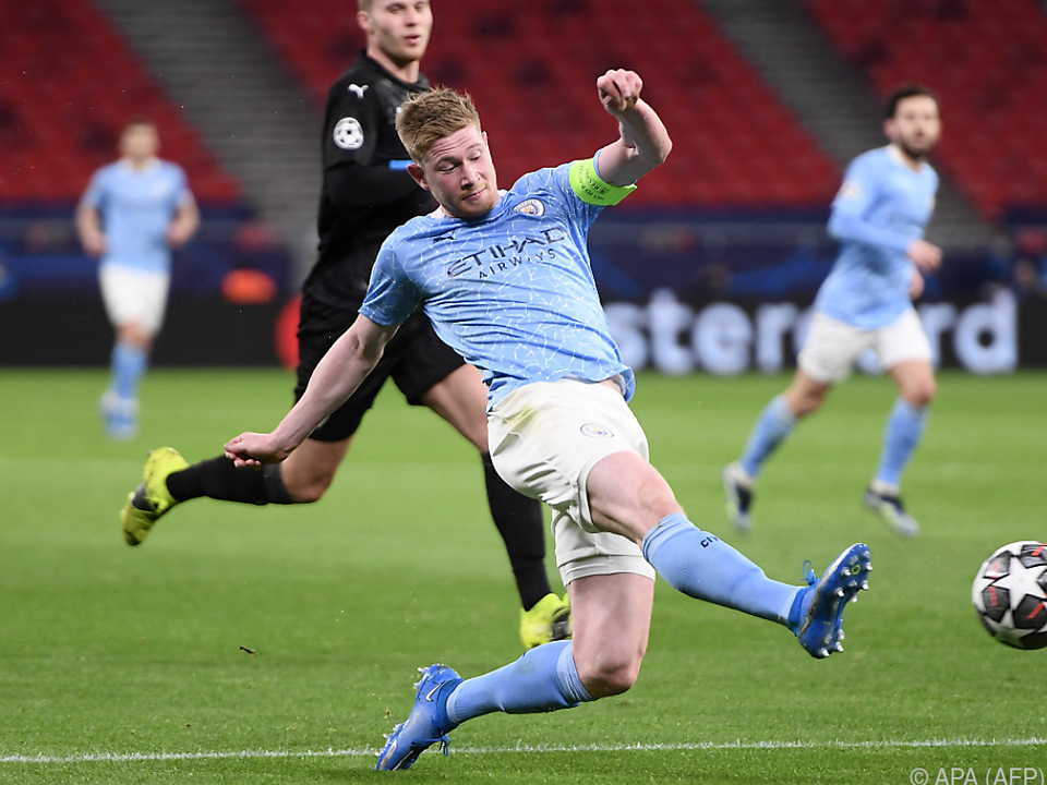 Kevin de Bruyne leitete Manchester City\'s Erfolg ein