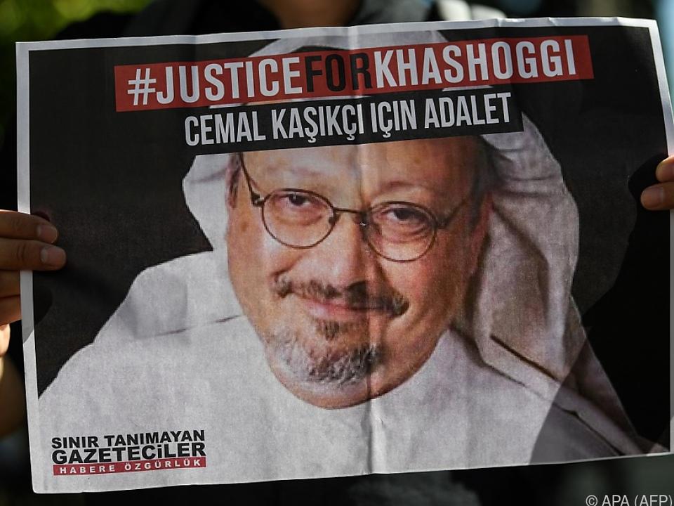 Khashoggi war 2018 im saudischen Konsulat in Istanbul getötet worden