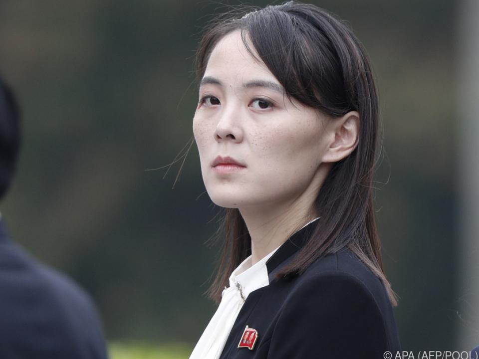 Kim Yo-jong ist die einflussreiche Schwester von Kim Jong-Un