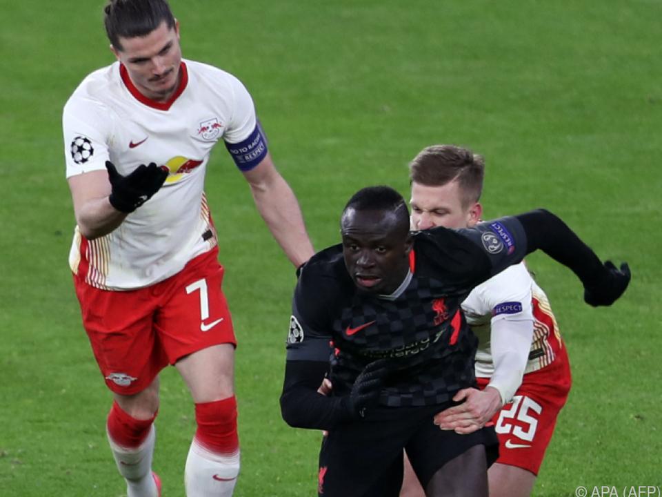 Leipzig läuft gegen Liverpool einem Rückstand hinterher
