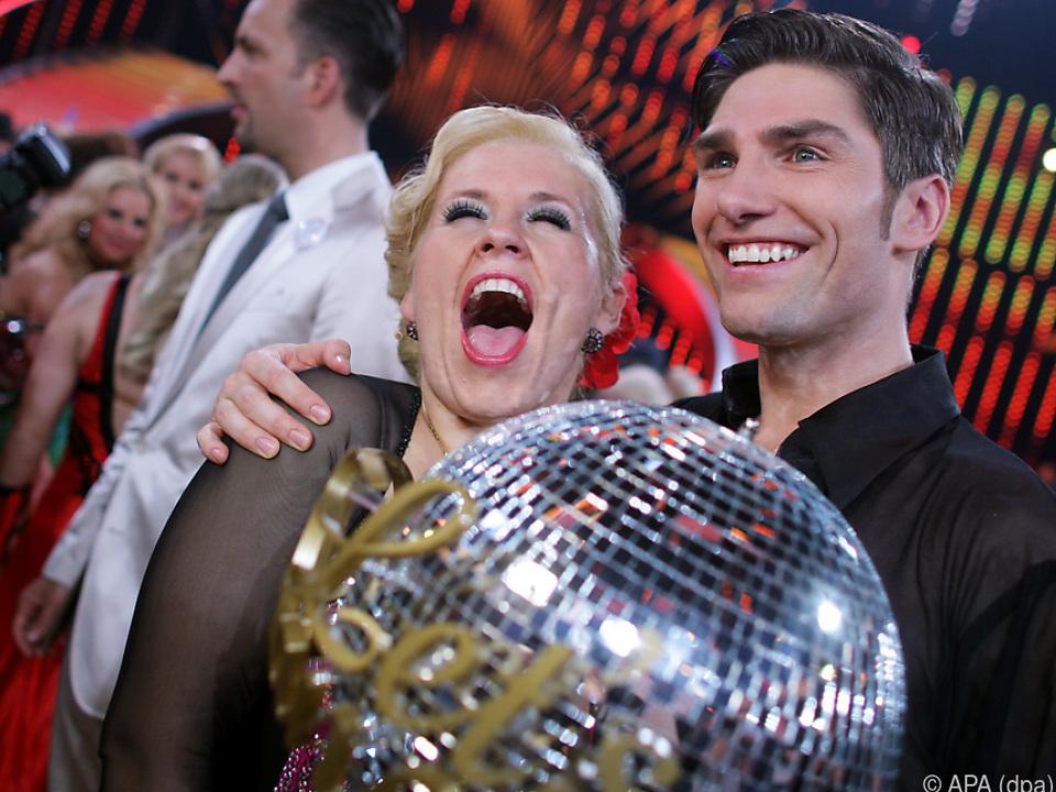 Maite Kelly gewann die Tanzshow mit Christian Polanc