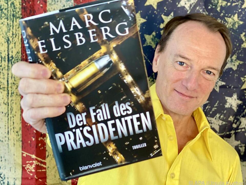 Marc Elsberg mit seinem neuen Buch