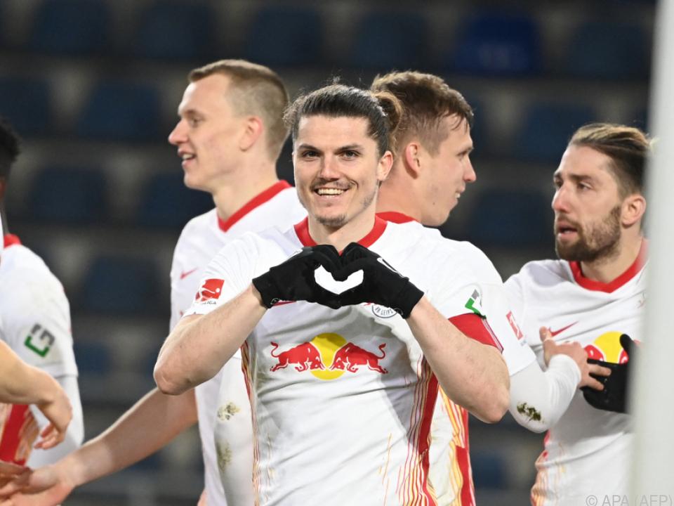 Marcel Sabitzer war Leipzigs Matchwinner