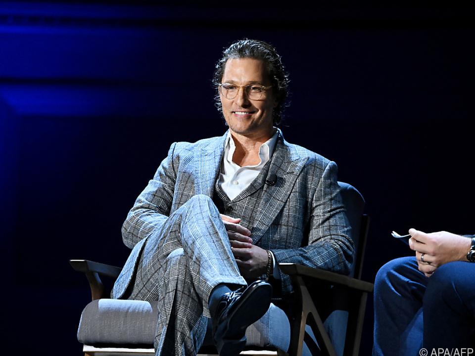 Matthew McConaughey liebäugelt mit Einstieg in die Politik