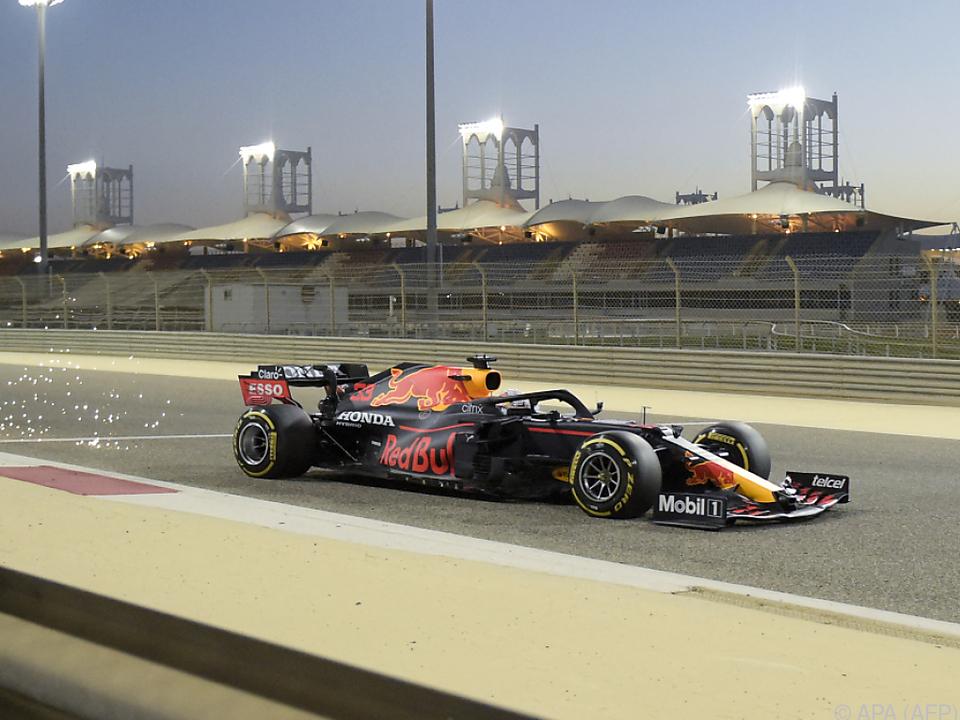 Max Verstappen will es in Bahrain wissen