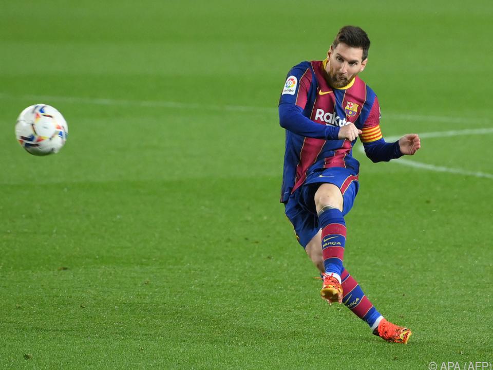 Messi traf bei seinem Rekordspiel für Barcelona