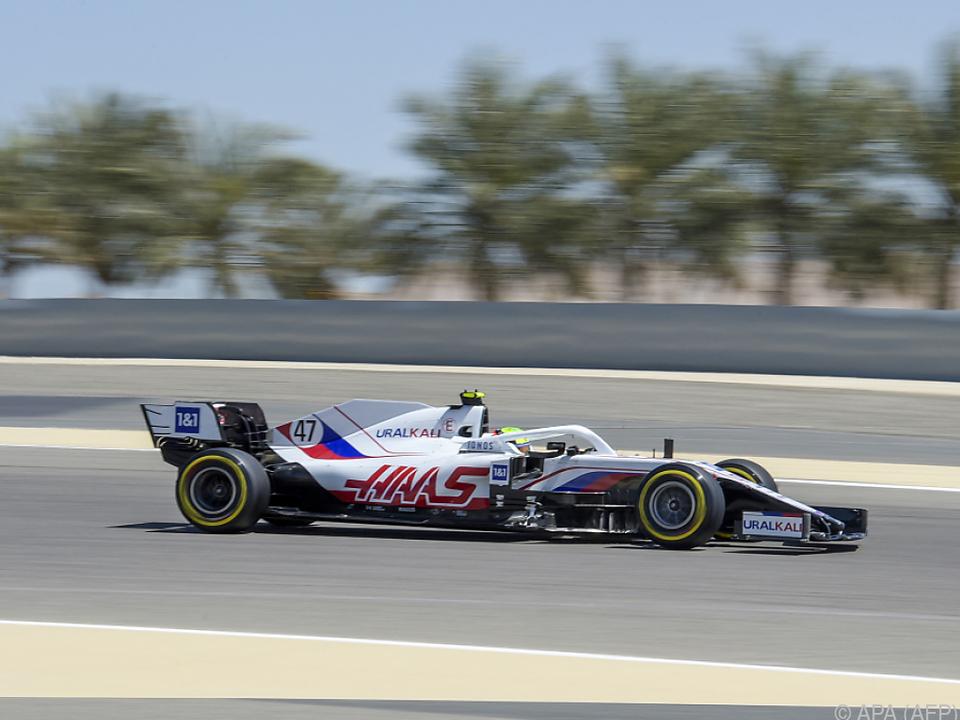 Mick Schumacher bei den Testfahrten in Bahrain