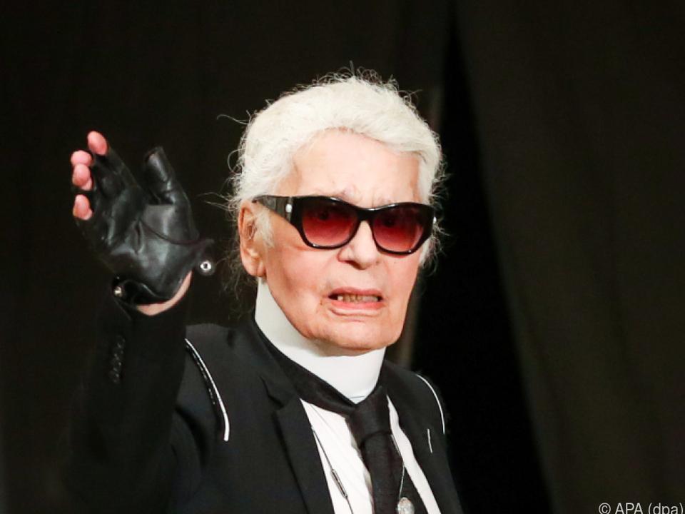 Modeschöpfer Karl Lagerfeld (Archivbild)