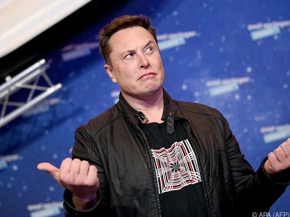 Musk sorgt immer wieder mit Tweets für Aufsehen