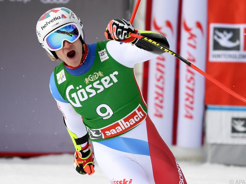 Odermatt fuhr in Saalbach zu seinem dritten Weltcupsieg