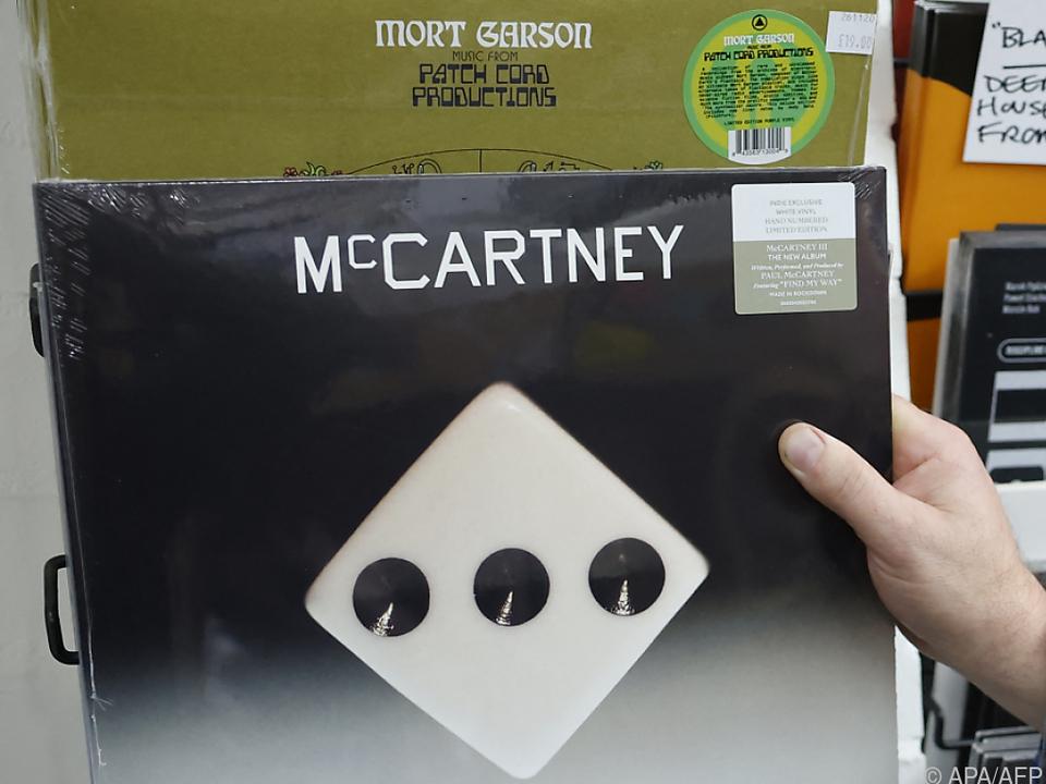 Paul McCartneys aktuelles Album \