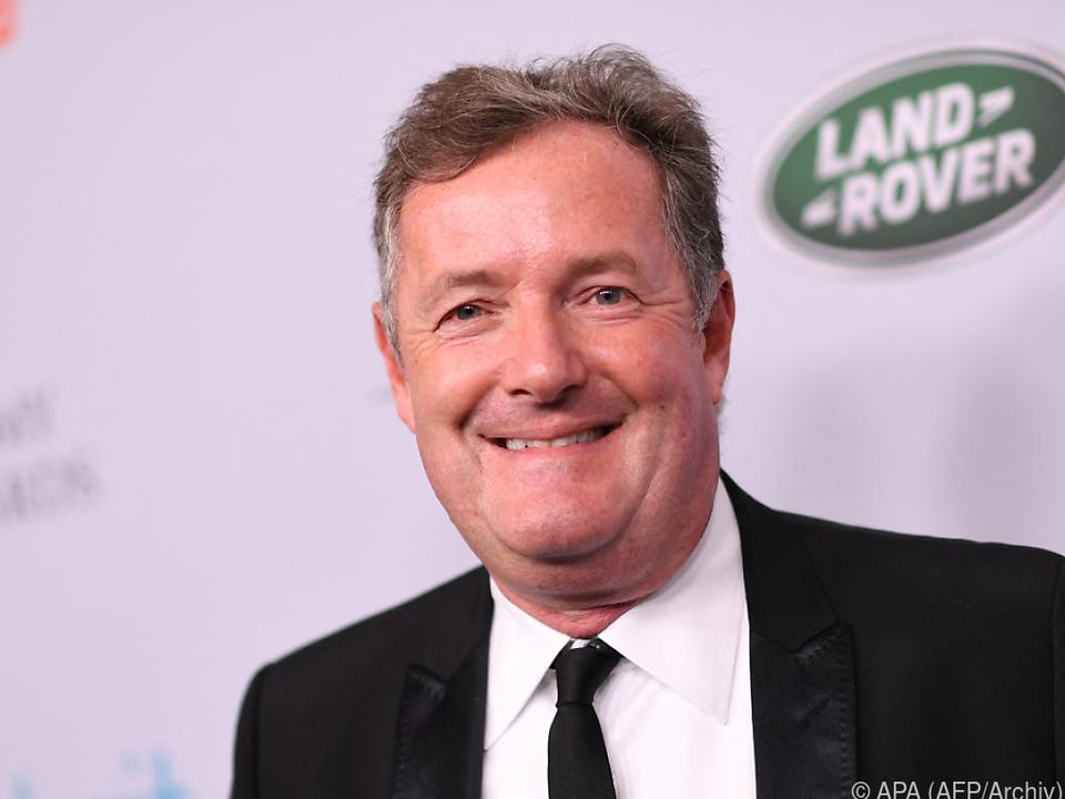 Piers Morgan kündigte seinen Job