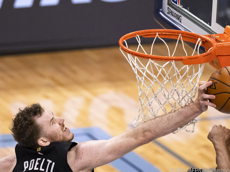 Pöltl und seine Spurs drehtren das Spiel