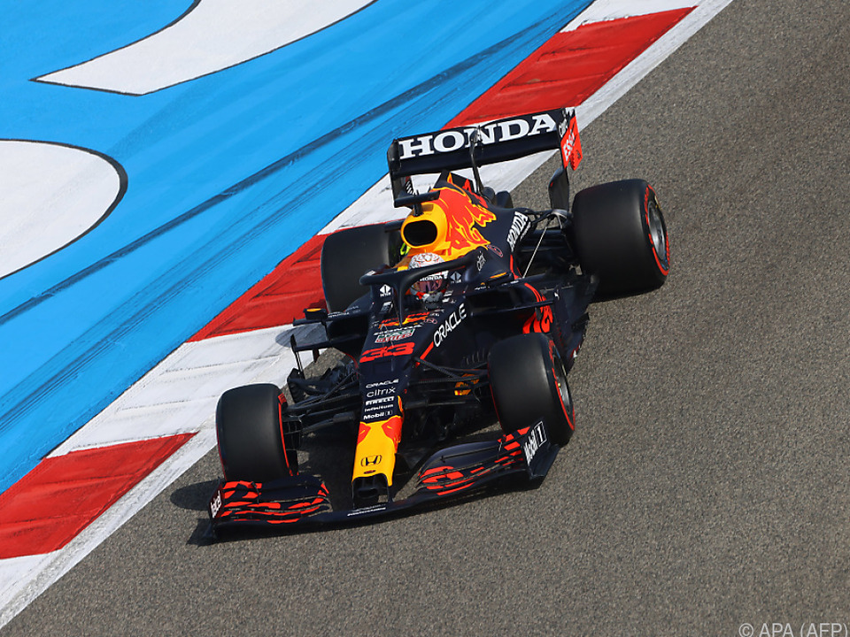 Pole Position mit Ansage für Max Verstappen