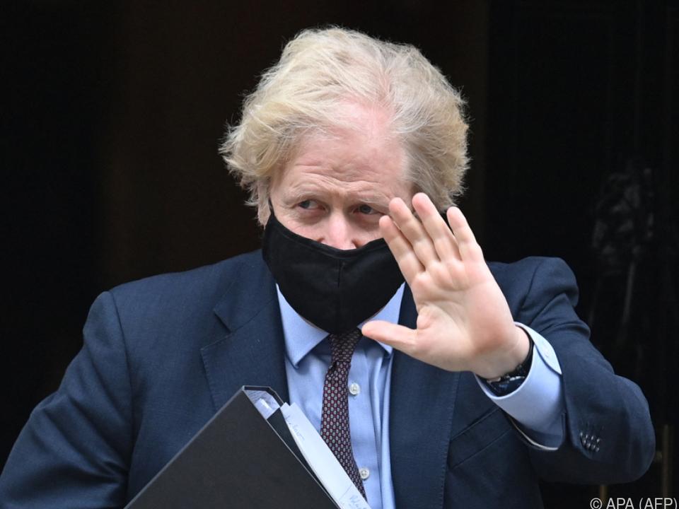 Premier Johnson stellte eine strategische Neuausrichtung vor