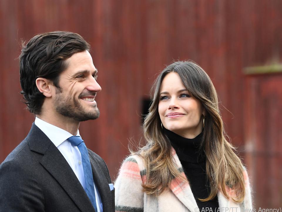 Prinz Carl Philip und Prinzessin Sofia wurden zum dritten Mal Eltern
