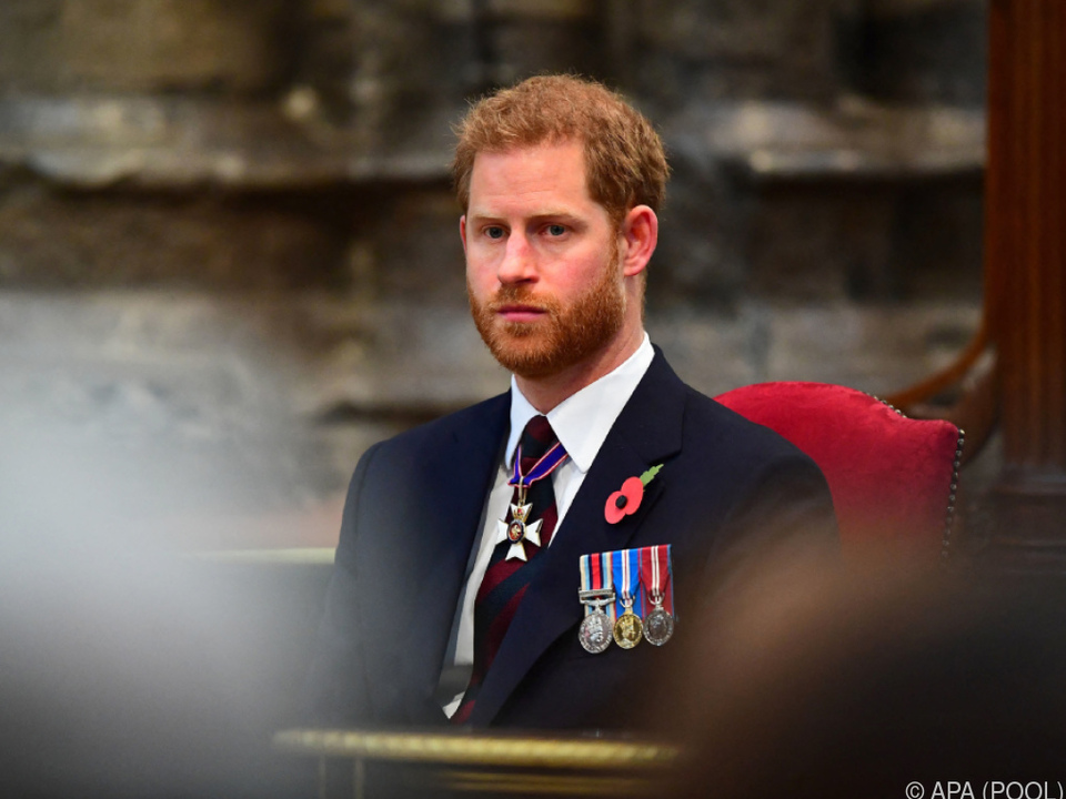 Prinz Harry beschrieb Tod seiner Mutter in Vorwort