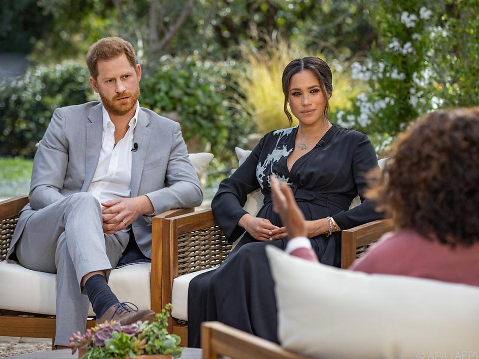 Prinz Harry und Herzogin Meghan leben inzwischen in Kalifornien
