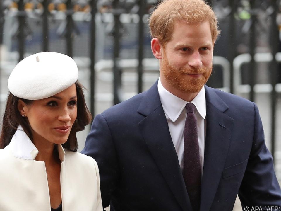 Prinz Harry und seine Frau haben sich vom Königshaus losgelöst