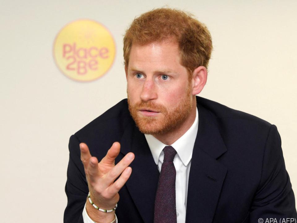 Prinz Harry zeigt sich enttäuscht