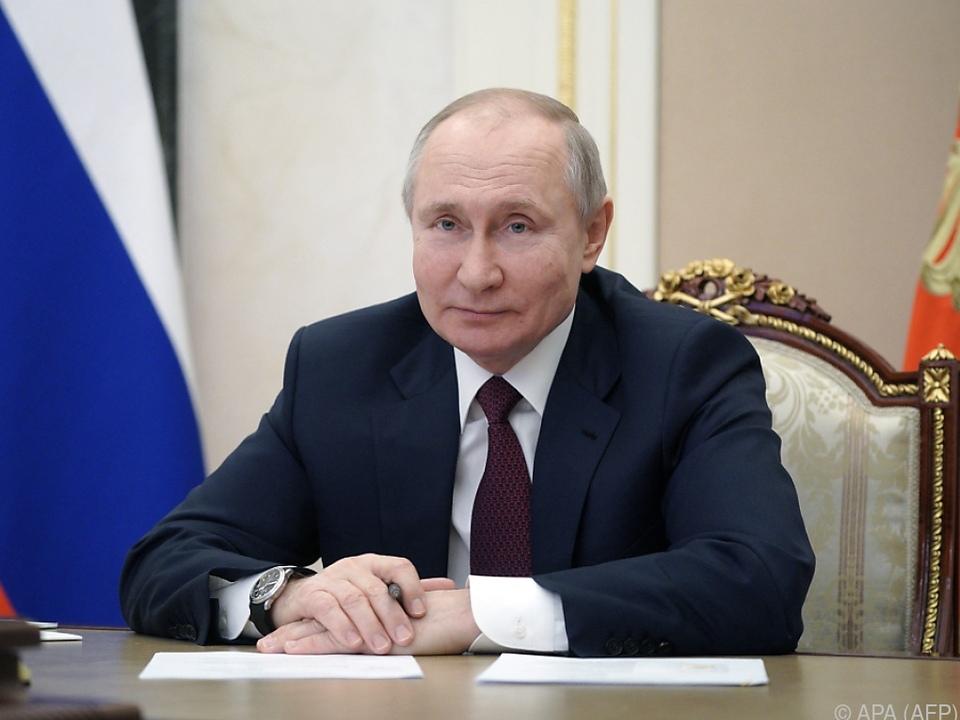 Putin nach langem Zögern nun doch überzeugt