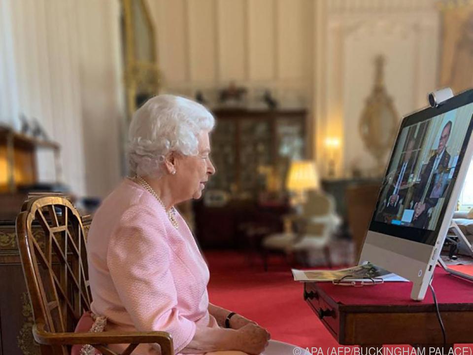 Queen war im Videotelefonat \