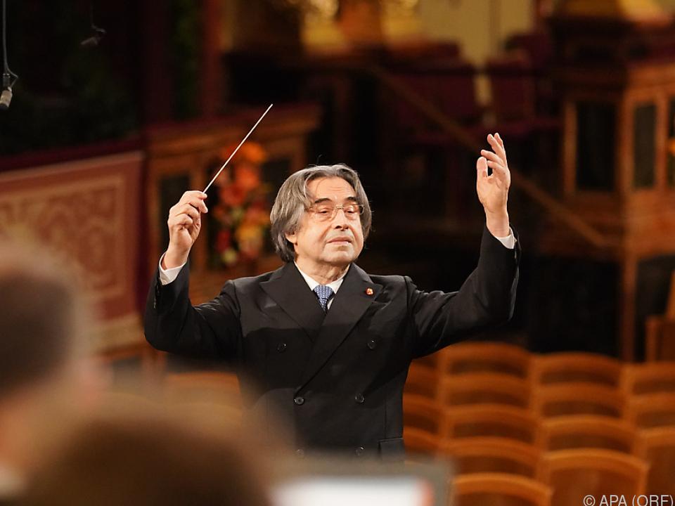 Riccardo Muti appelliert an die Politik (Archivbild)