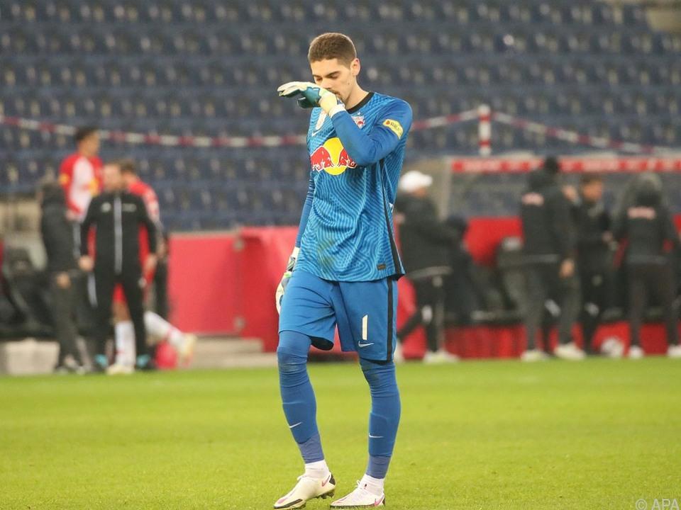 Goalie Stankovic über Nicht-Nominierung für ÖFB-Team verärgert
