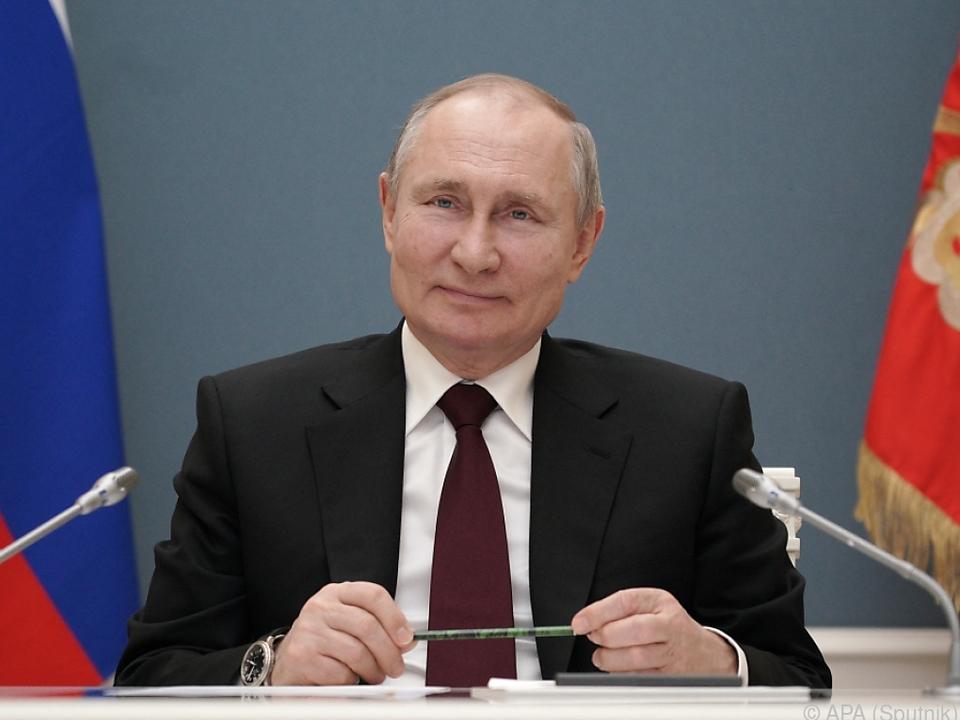 Russischer Präsident zeigt sich für Live-Gespräch jederzeit bereit
