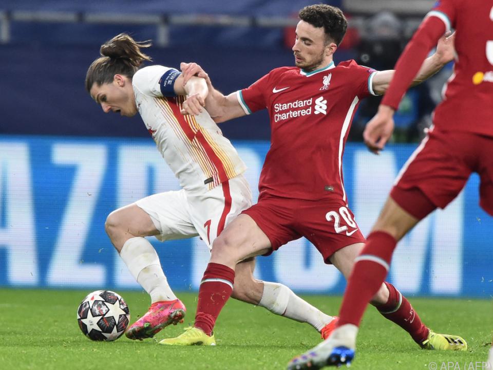 Sabitzer schied mit Leipzig gegen Liverpool aus