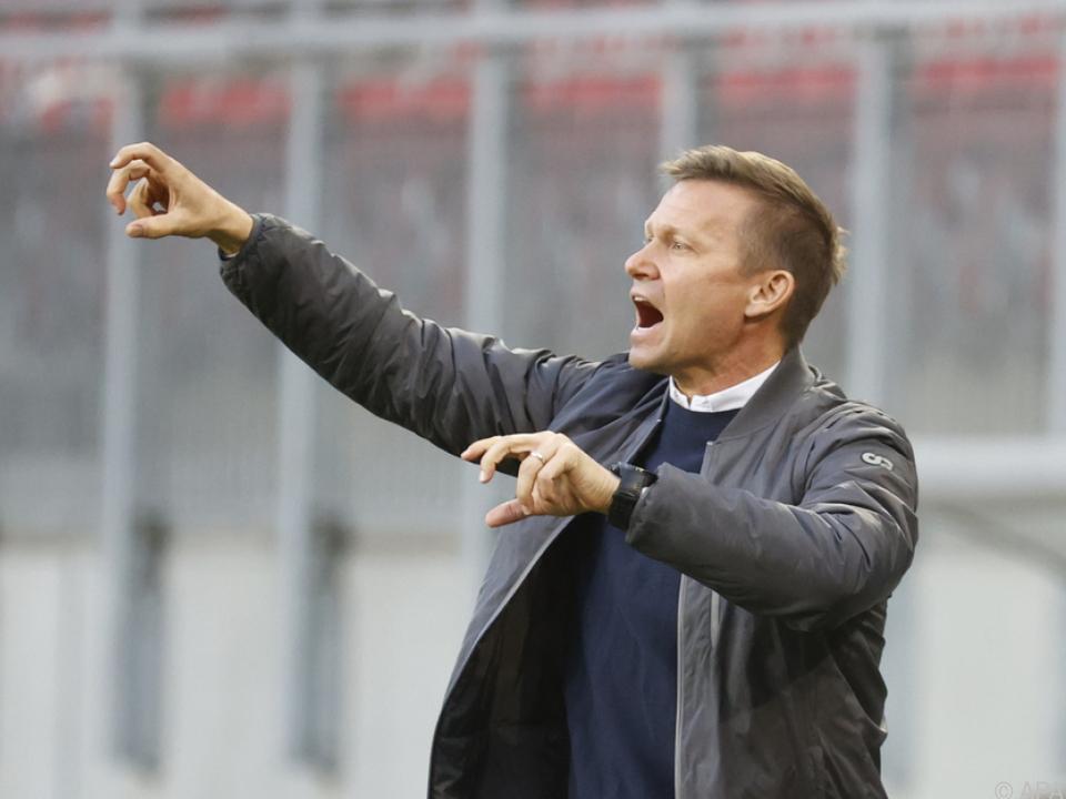Salzburg-Coach Marsch gilt als Trainerkandidat bei Celtic