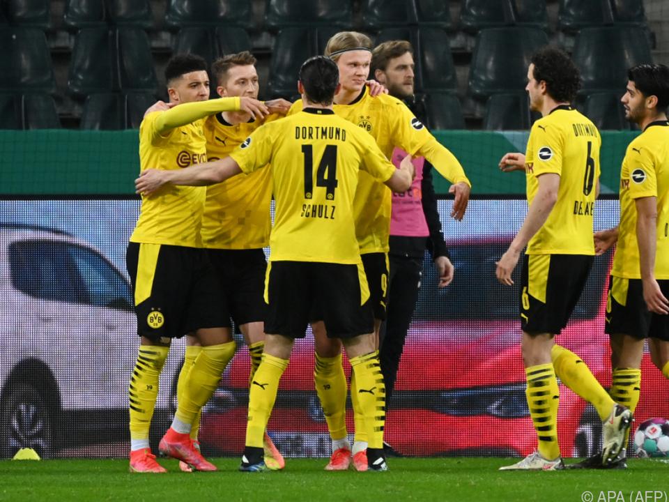 Sancho schoss Dortmund ins DFB-Pokal-Semifinale