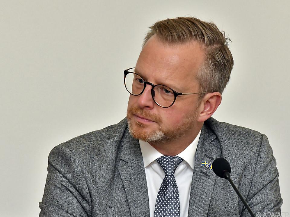 Schwedens Innenminister Mikael Damberg (Archivbild)