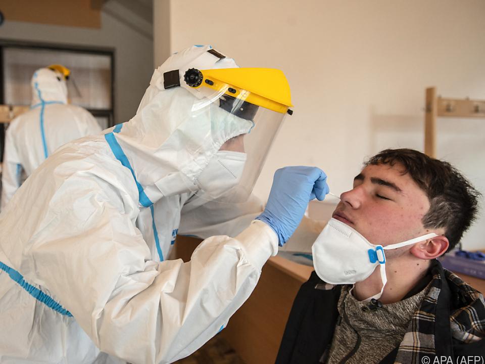 Sehr hohe Infektionszahlen in Tschechien