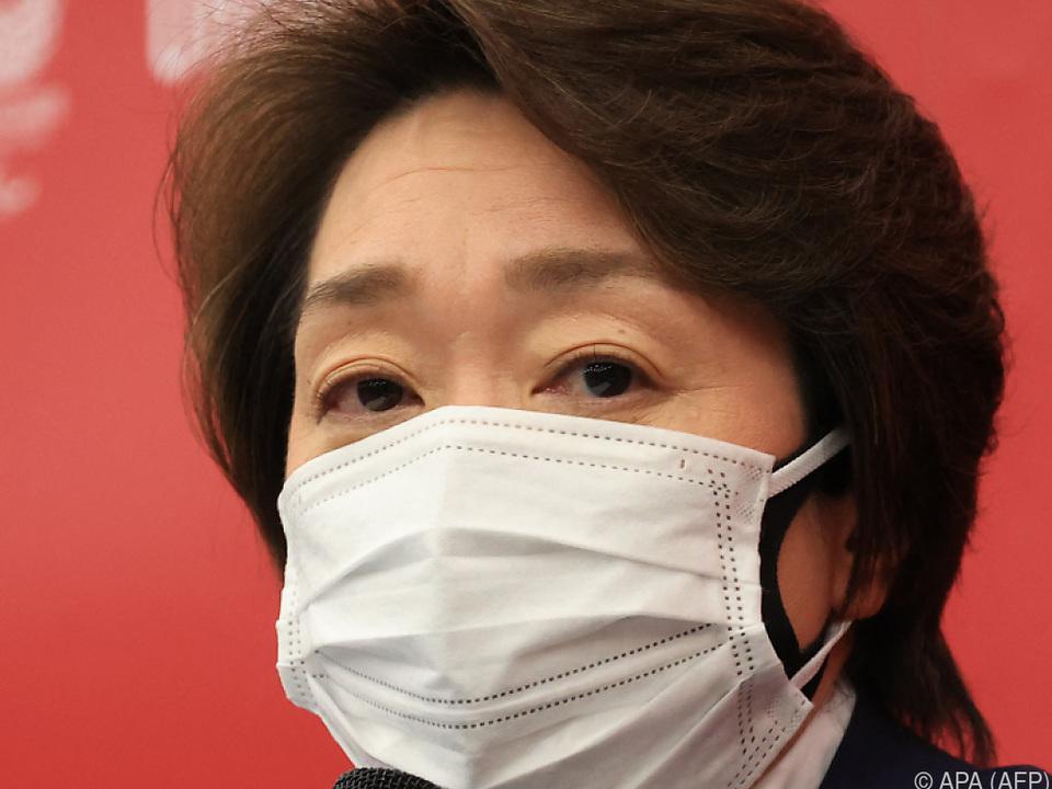 Seiko Hashimoto, die Organiationschefin der Tokio-Spiele