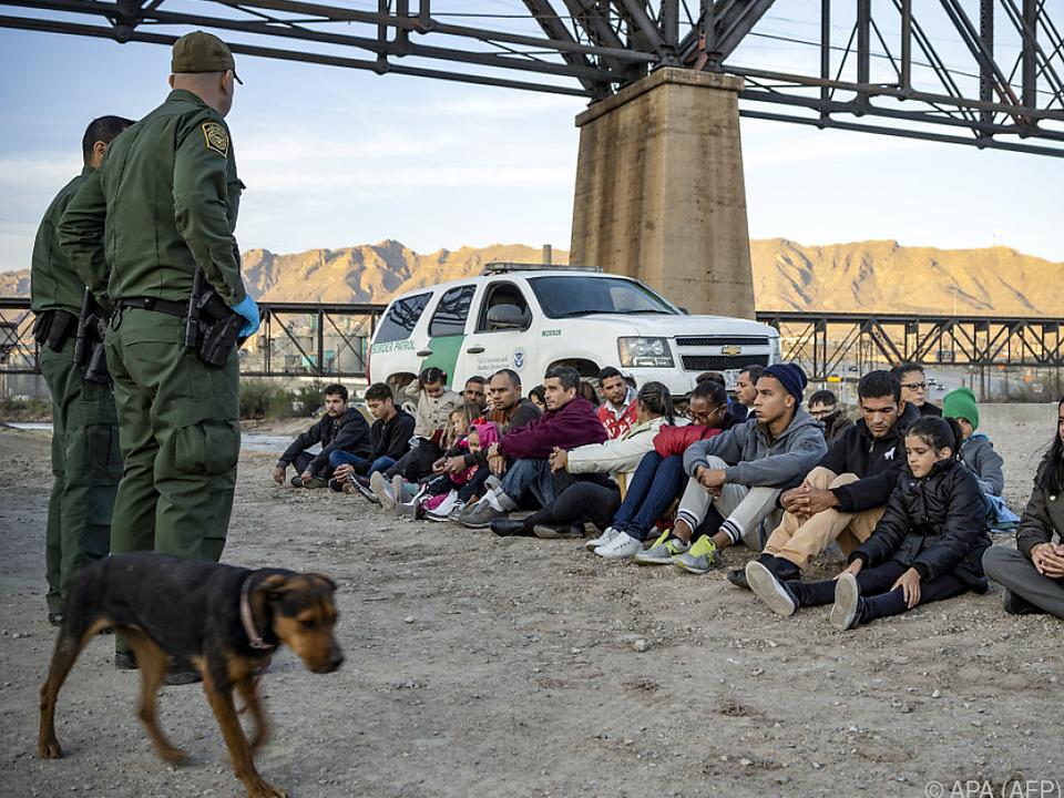 Selbst in der Coronakrise suchen Migranten ihr Heil in den USA