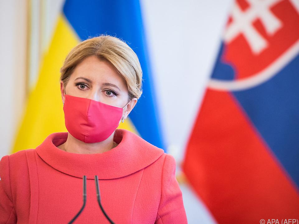 Slowakische Präsidentin fordert ebenfalls Rücktritt des Premiers