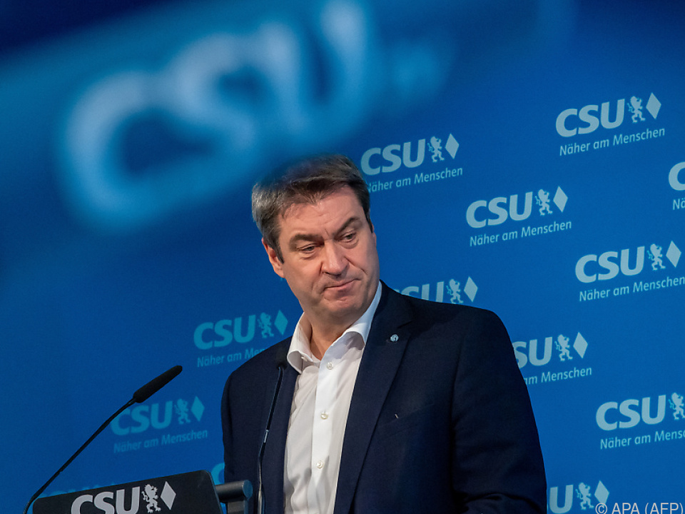 Söder fordert Neustart vor Bundestagswahl
